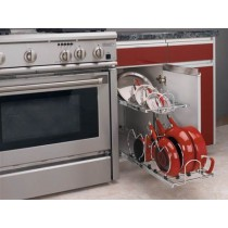 """12"""" Two-Tier Cookware Organizer"""