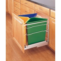 25 Qt Replacement Waste Container (Blue)