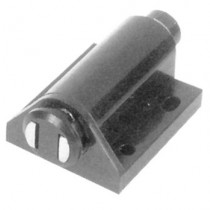 Single Magnetic Touch Latch (Black)