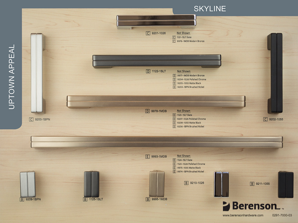 Skyline Decorative Hardware Board by Berenson