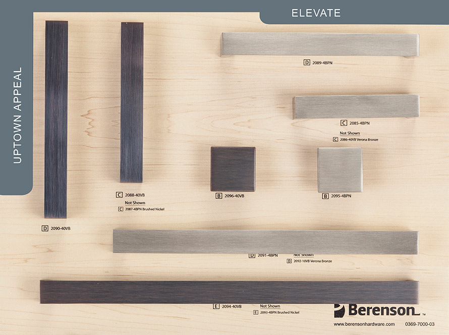 Elevate Berenson Hardware Board