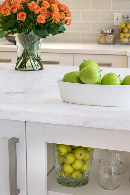 Mystera Solid Surface - Glacier Countertop