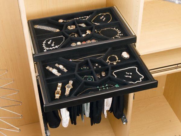 Jewelry Drawer W Slides Cjd 2414 Rev A Shelf