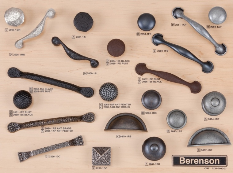 American Craftsman and American Classics Hardware from Berenson